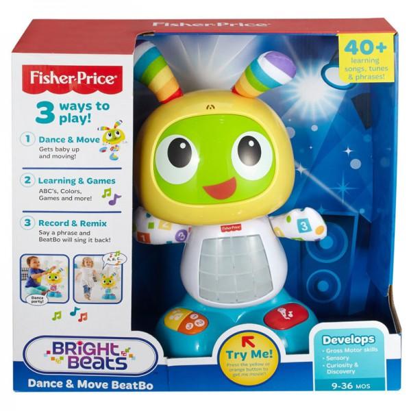 Игрушка интерактивная Робот Бибо для малышей Fisher Price