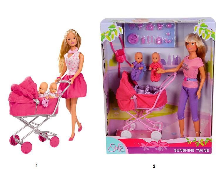 Кукла штеффи с ребенком