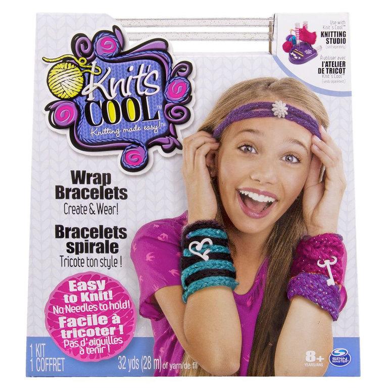 игровой набор для творчества вязание ободка и браслетов Knits Cool